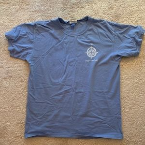 Put in Bay Island Time Comfort Colors Blue T-Shirt